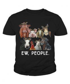 Farmers cattle ew people animal shirt