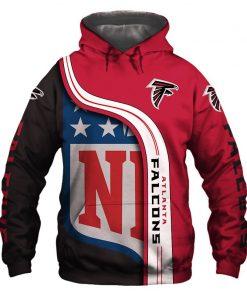 Atlanta Falcons 3D Hoodie Pullover Sweatshirt NFL