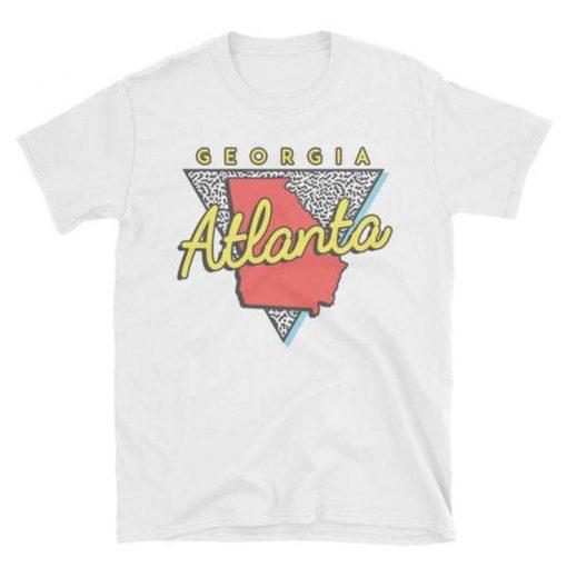 Atlanta Georgia T Shirt Unisex Vintage