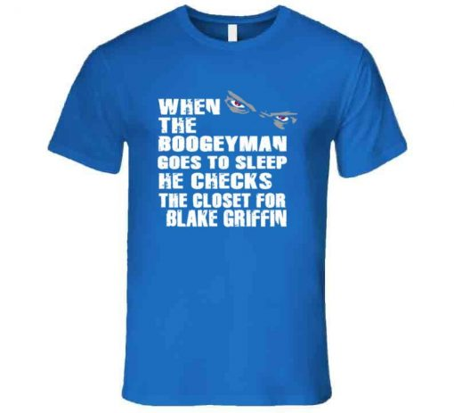 BLAKE GRIFFIN BOOGEYMAN DETROIT BASKETBALL FAN T SHIRT