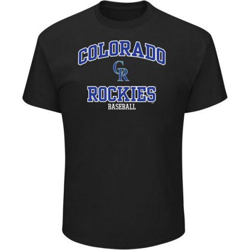 Colorado Rockies High Praise Team T Shirt