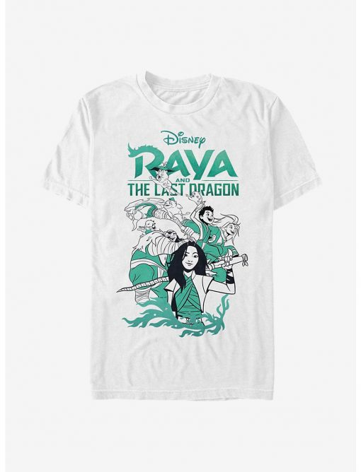Disney Raya And The Last Dragon Raya Action T Shirt