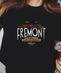 Fremont California Elektroauto Enthusiast EV Geschenk Langarm T shirt