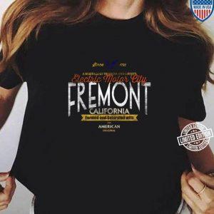 Fremont California Elektroauto Enthusiast EV Geschenk Langarm T shirt 2 min