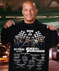 Ride or die Fast & Furious shirt, hoodie T-shirt