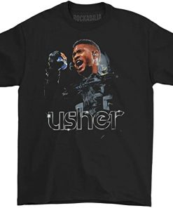 Usher Mens Mic T Shirt
