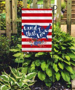 Land I Love Home Garden Flag
