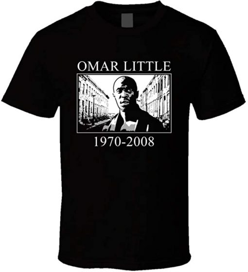 Omar Little The Wire T Shirt