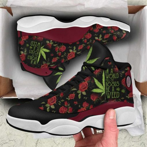 Rose Weed Air Jordan 13 Sneakers Shoes For Men and Women
