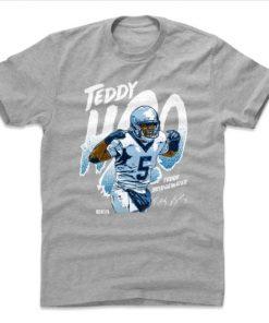 TEDDY BRIDGEWATER TEDDY MENS T-SHIRTS