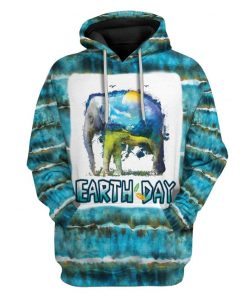 Gearhuman 3d tie dye earth day 50th anniversary Hoodie 3D