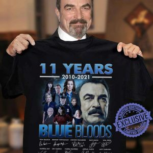 11 Years 2010 2021 Blue Blods Thank You Classic T Shirt