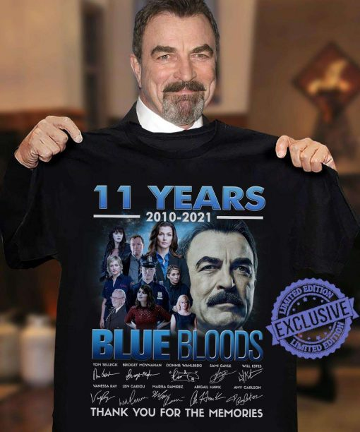 11 Years 2010 2021 Blue Blods Thank You Classic T-Shirt