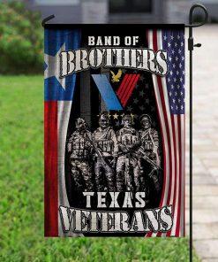 Veteran Band Of Brothers Texas Veterans House Garden Flag