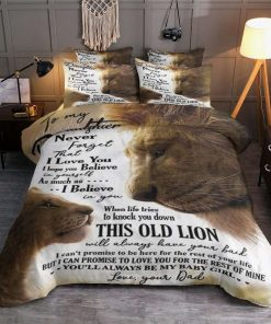 Dad To Daughter Lion Bedding Set LPVIAL HAITU 0 2195