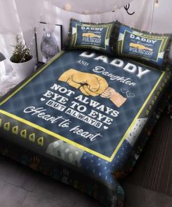 Dad To My Son And Daughter Not Always Quilt Beding Set