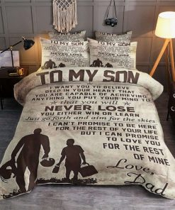 Dad To Son Bedding Set IY 0 2195