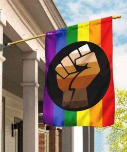 LGBT Black Lives Matter Flag Garden Flag House Flag
