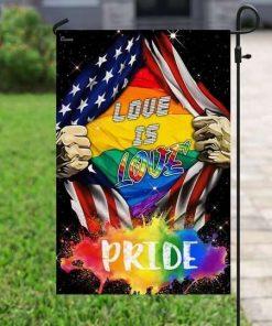 Love Is Pride LGBT Flag Garden Flag House Flag