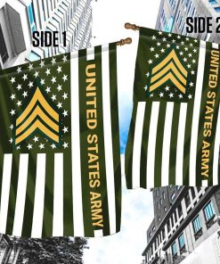 Veteran United States Army Garden Flag