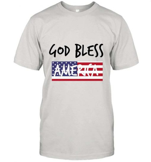 4th Of July Usa Independence Day God Bless T-Shirt
