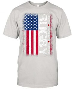 Usa Rugby American Flag Distressed Rugby 4th Of July Gift T shirt