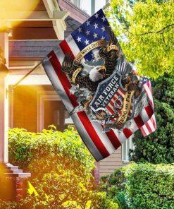 Veteran Air Force Veteran Strong And Free Garden Flag