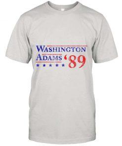Washington Adams 1789 Vintage Election 4th Of July Gift T shirt
