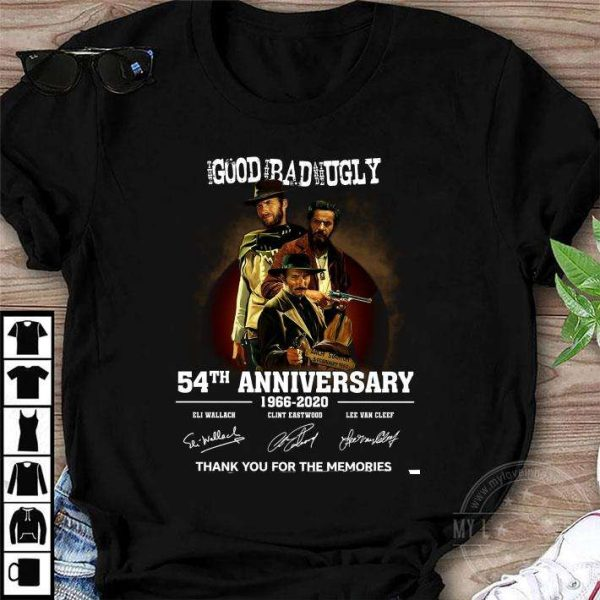 Clint Eastwood The Good The Bad And The Ugly 54th Anniversary T Shirt