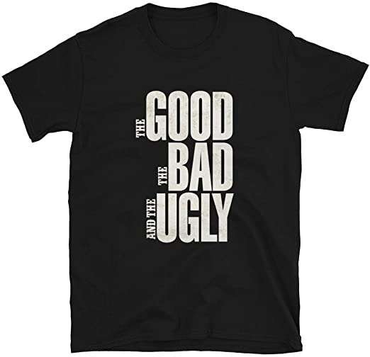 Clint Eastwood The Good The Bad The Ugly Spaghetti Western Movie Cowboys Guns T Shirt