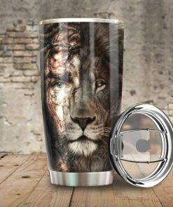 Lion Jesus Tumbler