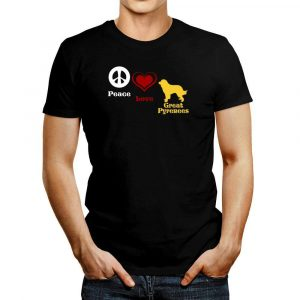 Peace Love Great Pyrenees T Shirt