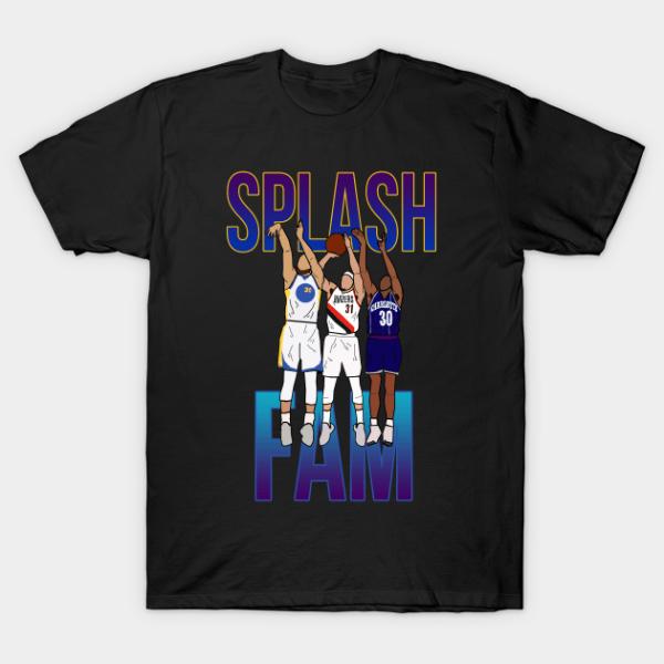 Seth Curry Dell Curry Splash Fam T Shirt