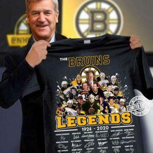 The Bruins Legend Champions Stanley Cup Ice Hockey Gift Men Women Fan T Shirt