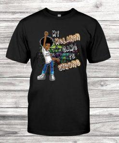 Phenomenal Woman My Melanin Game Is Strong Girl Magic T-Shirt