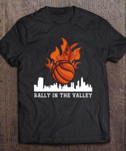 2021 Basketball Rally The Valley City Phx Sun Jersey Shirt