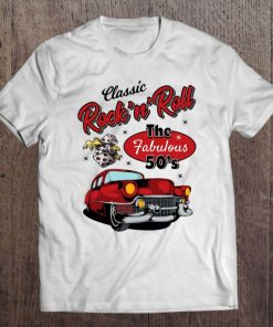 50S Rockabilly Clothing For Men Women Gift Retro 1950S T-Shirt