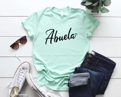 Abuela Shirt Grandmother Shirt