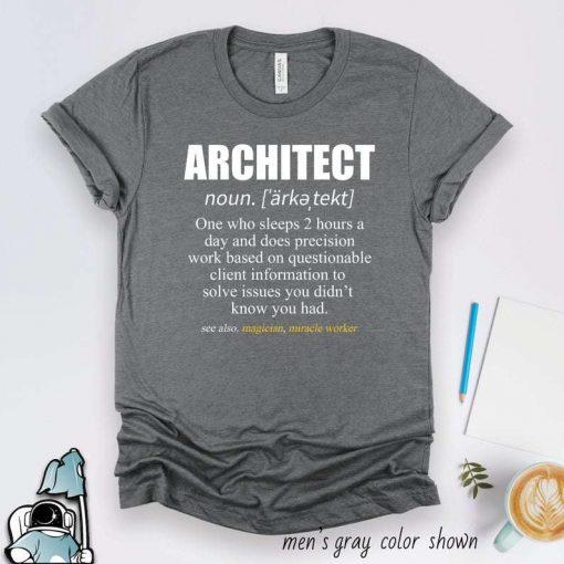 Architect Gifts Architecture T-Shirt
