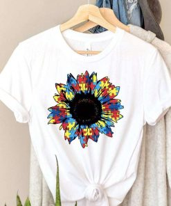 Autism Awareness Sunflower T-Shirt