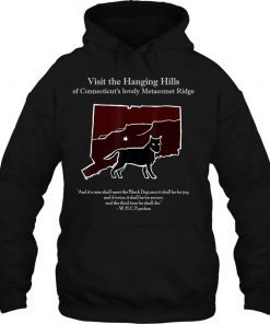 Black Dog Of The Hanging Hills Of Connecticut T-Shirt