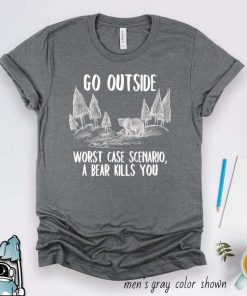 Camping Hiking Go Outside T-Shirt