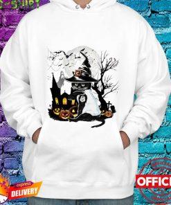 Cat Witch Halloween T-Shirt