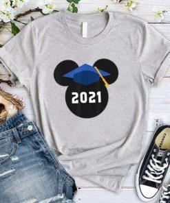 Disney Mickey Mouse Graduation Class of 2021 T-Shirt