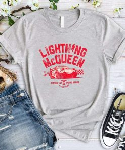 Disney Pixar Cars 3 Lightning McQueen T-Shirt