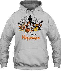 Disney Halloween Pumpkin Mickey Minnie Donald Duck T-Shirt