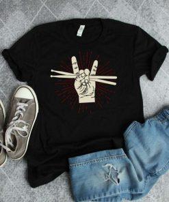 Drummer Gift Drum Sticks T-Shirt