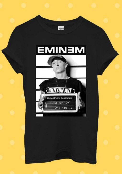 Eminem Slim Shady Rap Cool Fun T-Shirt