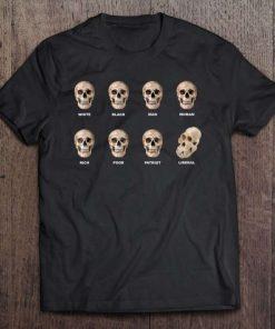 Funny Skull Anti Liberal TShirt