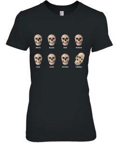 Funny Skull Anti Liberal TShirt1